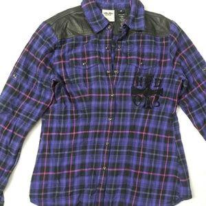 Harley Davidson Button Down Long Sleeve Shirt